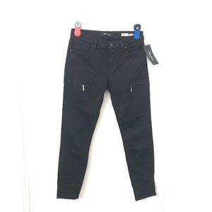 Mavi Jeans Karlina Mid Rise Skinny Jeans Zippers